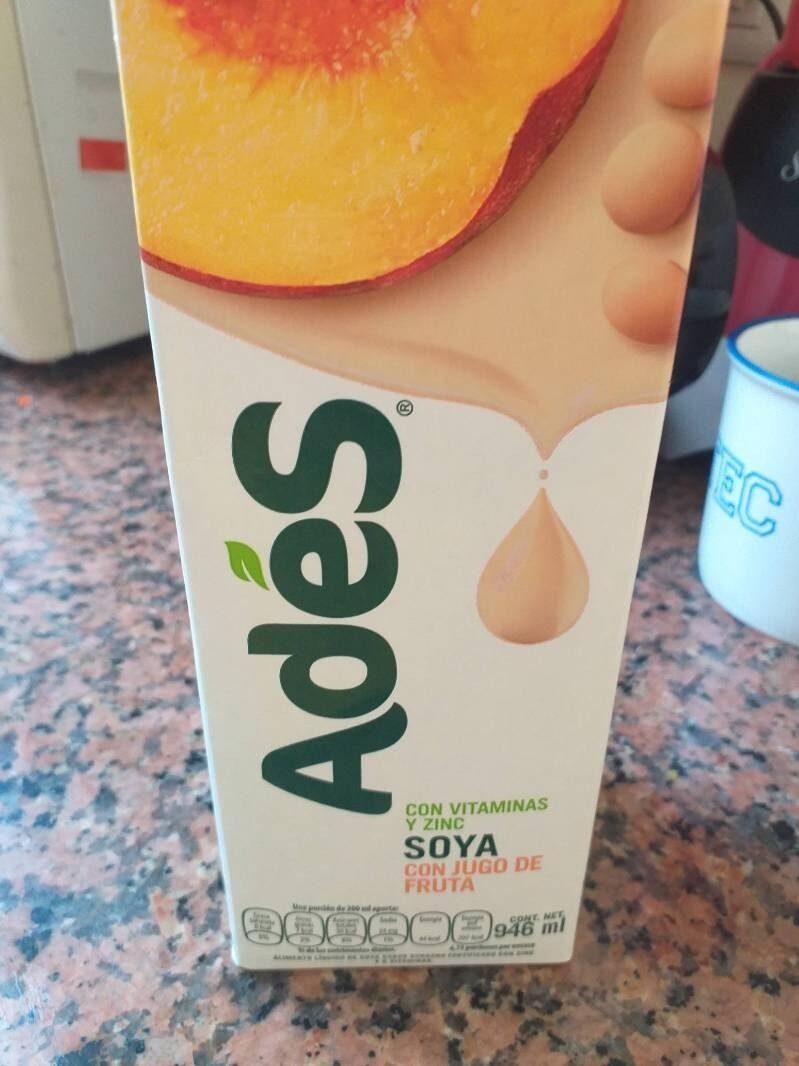Soya con jugo de fruta - Nutrition facts - es
