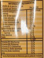 Ades Max - Información nutricional - es