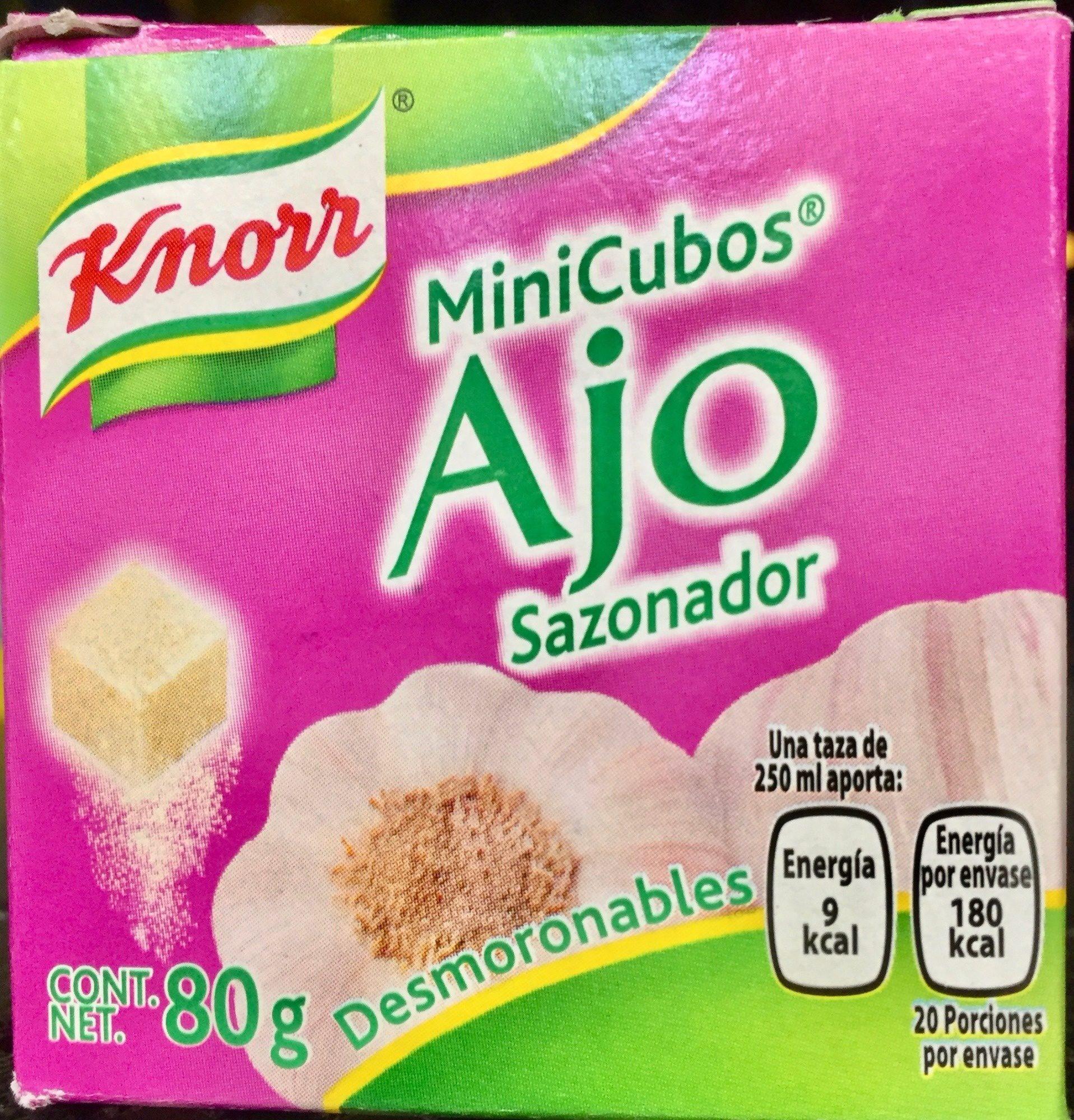 MINI CUBOS AJO - Product - es
