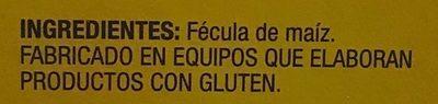 Fécula de maíz - Ingredients - es