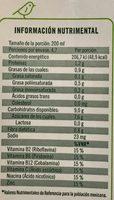 Ades soya con jugo de frutas tropicales - Voedingswaarden
