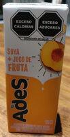Soya + Jugo de fruta (durazno) - Producto - es