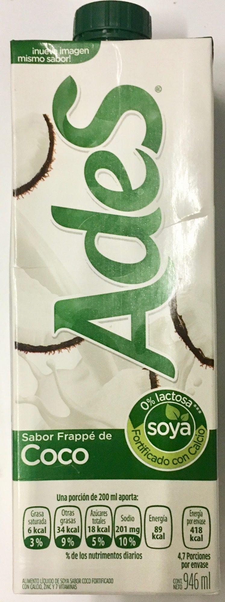 Alimento líquido de soya sabor coco - Product