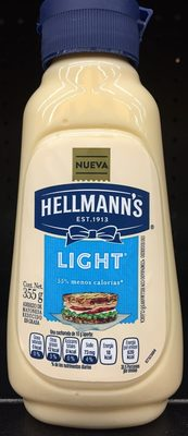 Mayonesa Light Hellmann's - Produit - es