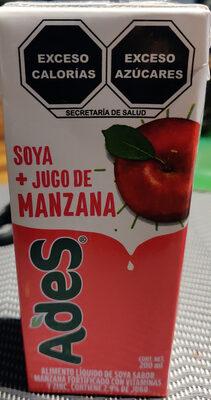 Soya + Jugo de manzana - Producto - es