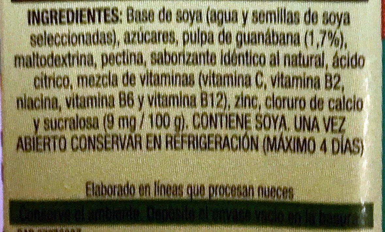 Ades Max - Ingredienti - es