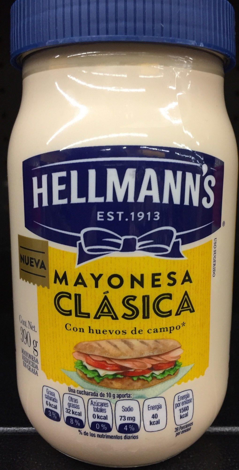 Mayonesa Clásica Hellmann's - Produit - es