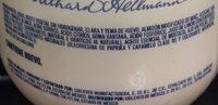 Mayonesa Clásica Hellmann's - Ingrédients - es