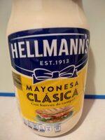 Mayonesa Hellmann's Clásica - Informació nutricional - es