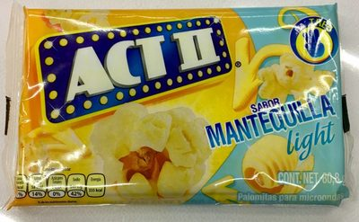 Act II sabor Mantequilla Light - Product