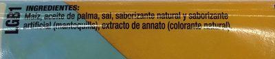Act II sabor Mantequilla Light - Ingrediënten