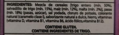 All Bran - Ingrediënten - es