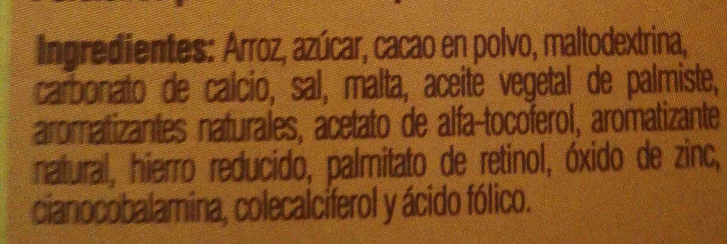 Kellogg's choco krispis - Ingrediënten - en