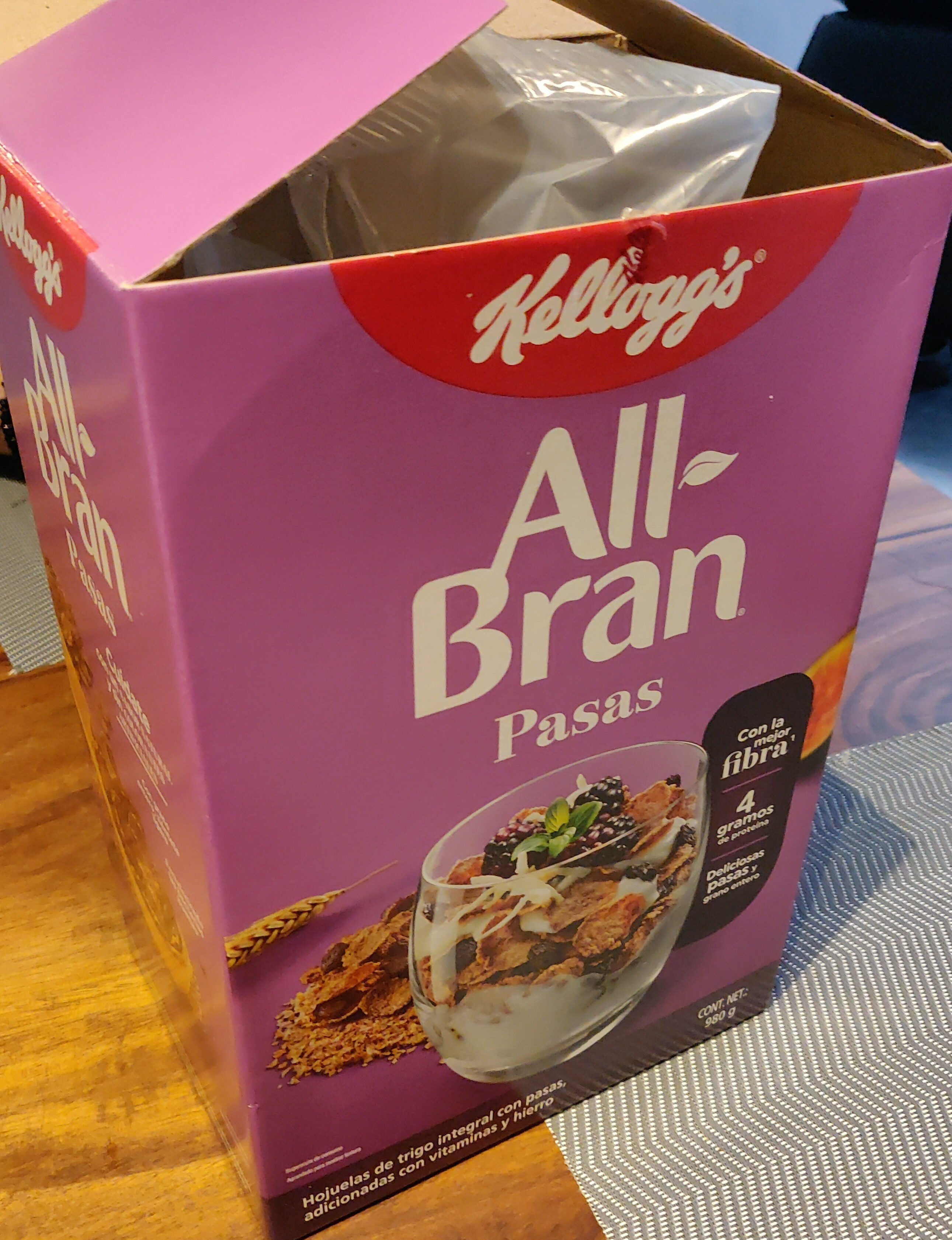 All-Bran Pasas - Producto - es