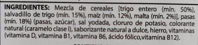 All-Bran Pasas - Ingredientes - es