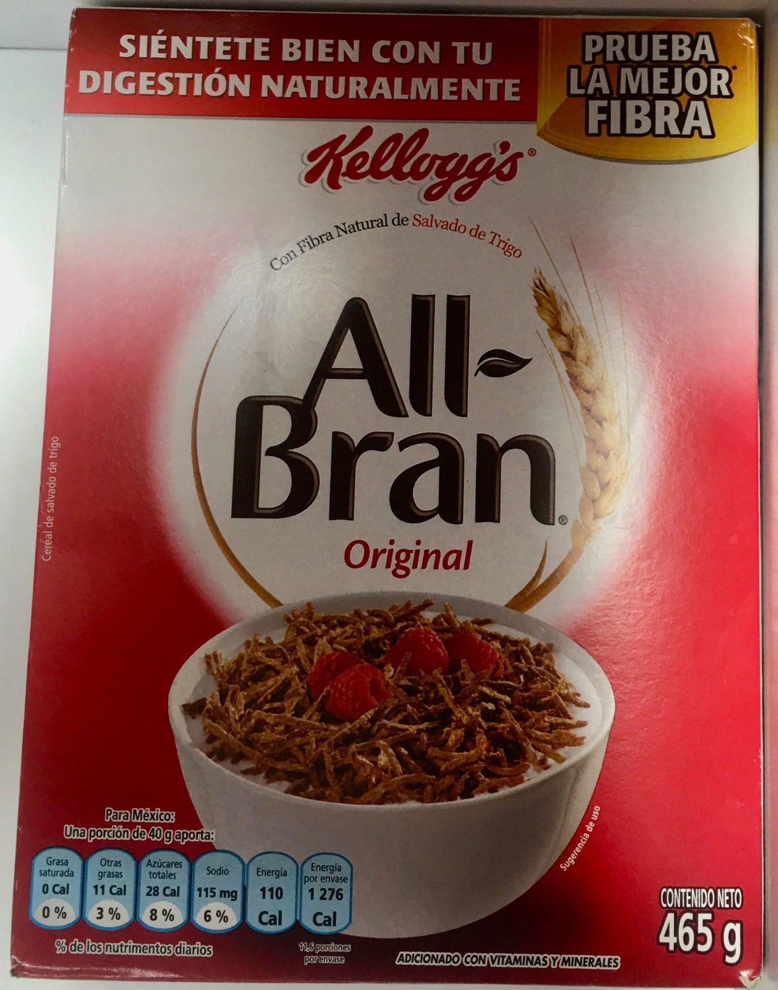 ALL BRAN ORIGINAL - Producto - es