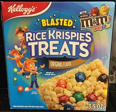 Rice Krispies Treats Sabor Original - Producto