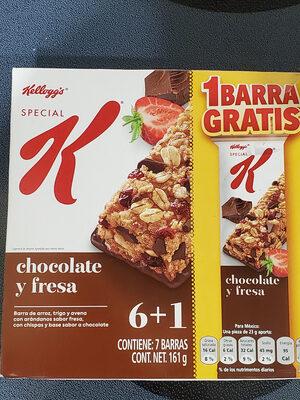 Special K chocolate y fresa - Producto - es
