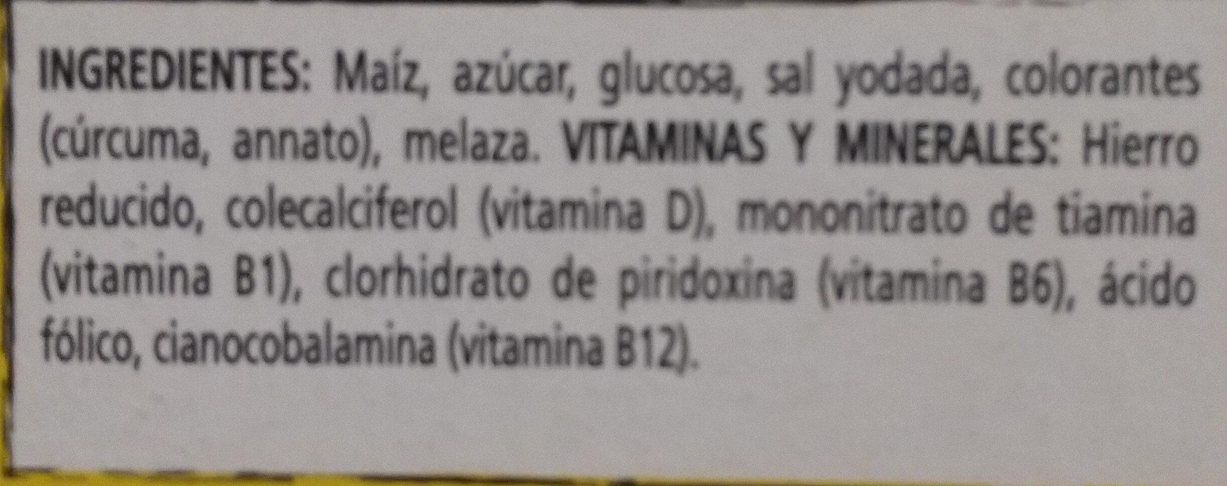 Corn Pops - Ingredientes - es