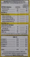 Corn Pops - Información nutricional - es