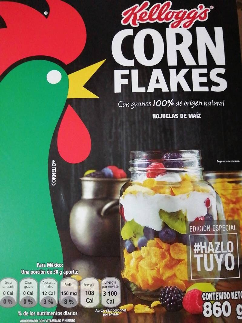 Corn Flakes - Producto