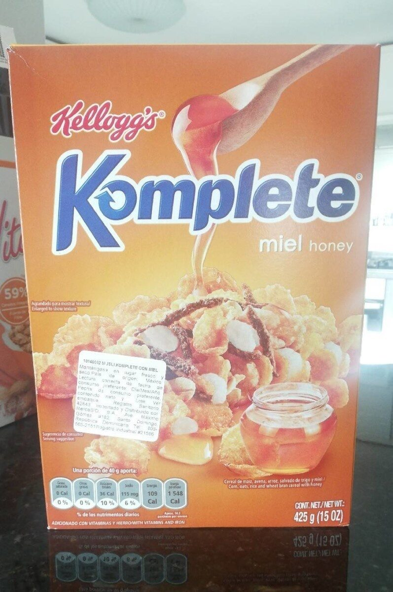 Komplete miel honey - Product - fr