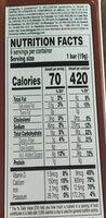 Choco krispis - Voedingswaarden