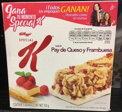Special K pay de queso y frambuesa - Product - es