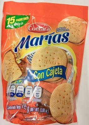 Marías con cajeta - Product
