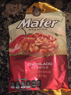 Cacahuate frito enchilado - Product