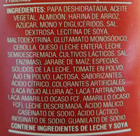 Sabritas Stax Pizza - Ingredients