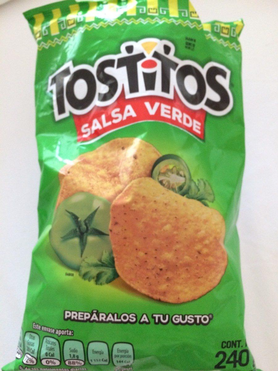 Tostitos Salsa Verde - Produit - fr