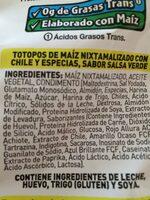 Tostitos Salsa Verde - Ingrédients - fr