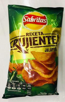 Sabritas receta crujiente sabor jalapeño - Produit - es