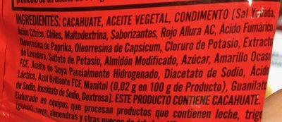 Kacang - Ingredientes - es