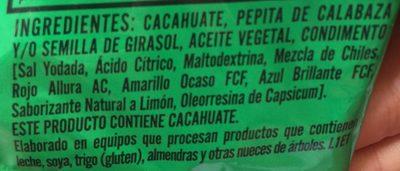 Kacang - Ingrédients - es