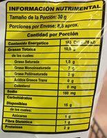 Cheetos - Voedingswaarden - es