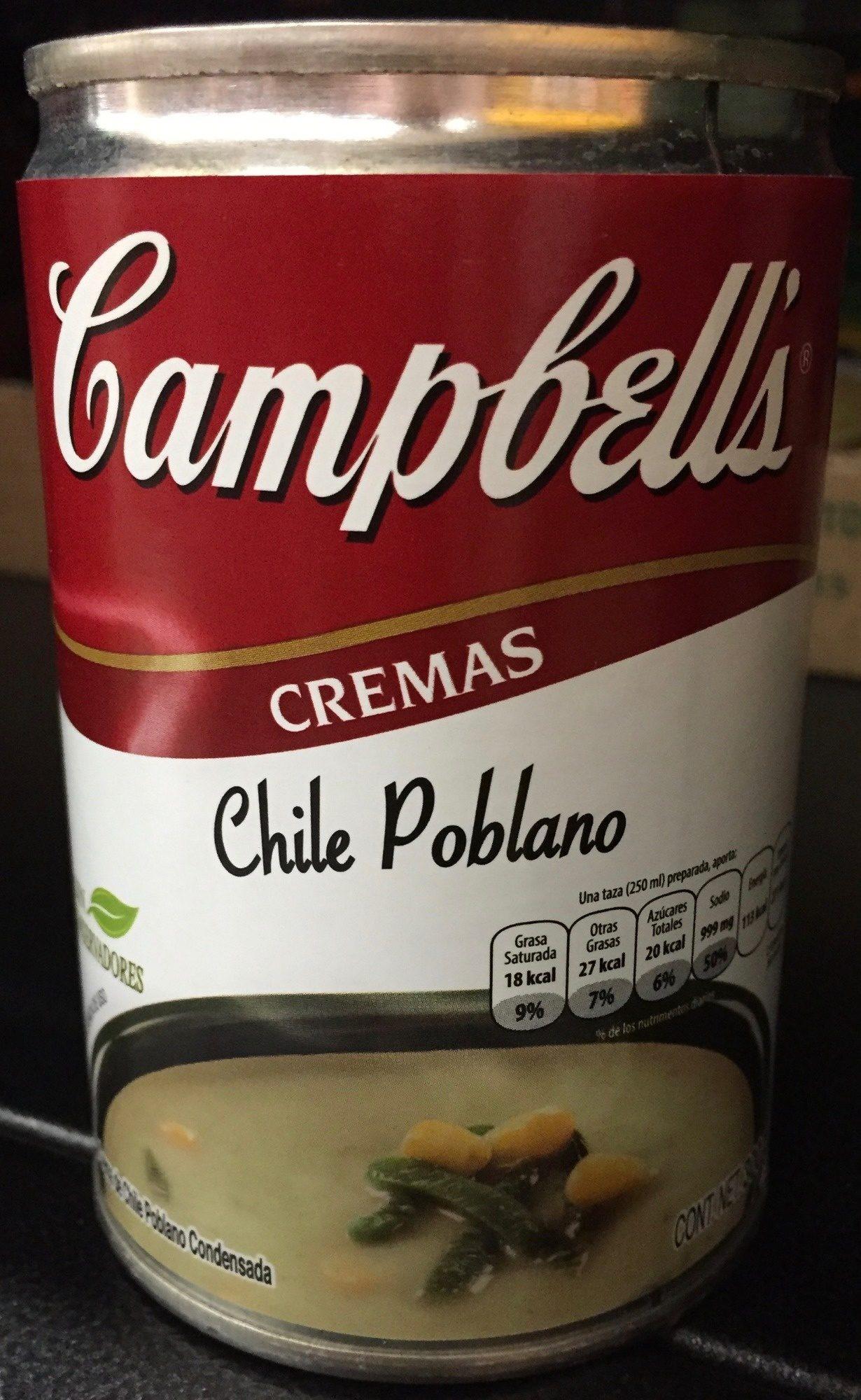 CREMAS CHILE POBLANO - Producto - es
