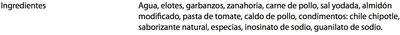 CALDO TLALPEÑO - Ingredientes - es