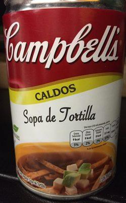 SOPA DE TORTILLA - Producto - es