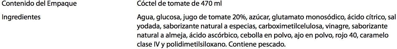 Kermato - Ingredientes - es