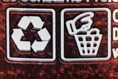 Jumex jugo de arandano - Instrucciones de reciclaje y/o información de embalaje - fr
