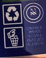 - Instruction de recyclage et/ou informations d'emballage - es