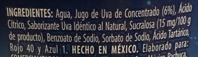 Jumex Amí - Ingredients - es