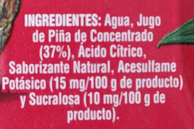 Vigor - Ingredients