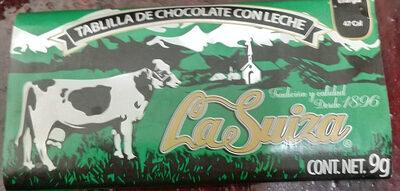 Tabikla de chocolate con leche - Product