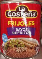 FRIJOLES BAYOS REFRITOS - Product - es