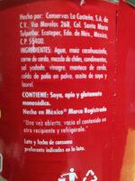 Pozole Rojo - Ingredients - es