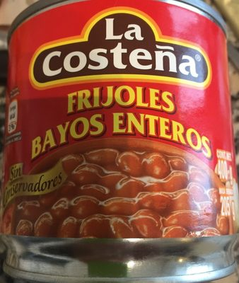 Frijoles Bayos Enteros - Produit - fr
