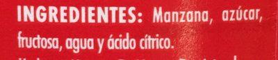 PURÉ DE MANZANA - Ingrédients - es